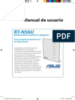 Router Asus S7822 RT N56U Manual Spanish