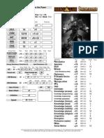 Lvl 16 Elf Wizard - Pathfinder