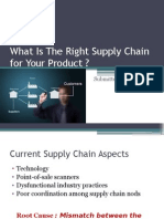 What is the Right Supply Chain for Your