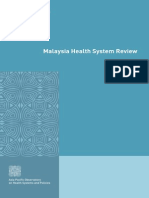 Malaysia Health Systems Review2013