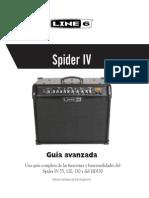 Spider IV Advanced Guide - Spanish