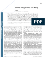 JPhysiol.587(2009)4153 the Core Gut Microbiome, Energy Balance and Obesity