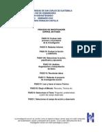 Spiral en Fases Del Proeso de Investigación PDF