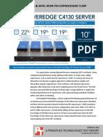 Dell PowerEdge C4130 & Intel Xeon Phi coprocessor 7120P