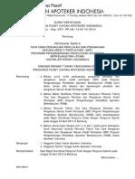 SK 007 Juknis Pengajuan SKP untuk resertifikasi kompetensi apoteker