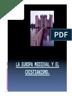 Europa Medieval y Cristianismo