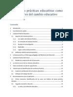 Las buenas prácticas educativas como catalizador del cambio educativo