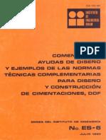 Comentarios Ayudas Diseño NTC Cimentaciones