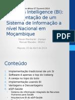 Implementacao BI Mozambique