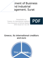 Greece, its creditors and euro