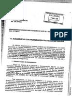 Informe Fiscal Sobre Pagos al Abogado de Arturo Torró