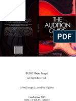 The Audition Guide - How I Got Into Berklee College of Music as a Guitar Player - 2nd Edition - 2015