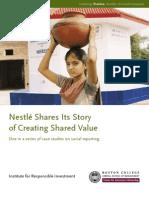 Nestle Social Report