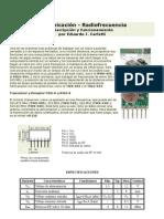 Comunicación Radiofrecuencia - Descripción y Funcionamiento