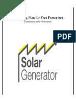 Solar Generator Report