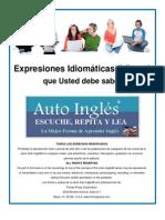 Ingles Expresiones Idiomaticas