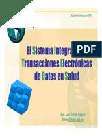 El Siteds Seps - Sistema Integrado de Transacciones Electrónicas