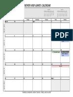 2015 LWG Calendar