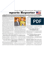 April 8 - 14, 2015 Sports Reporter