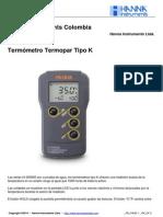 HI 935005 Termometro Tipo K
