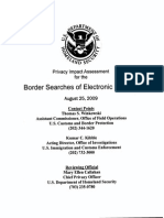 Privacy Impact Assessment for the Border Searches of Electronic Devices