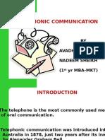 Telephonic Comunication