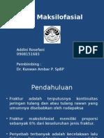 PPT Referat Fraktur Maksilofasial