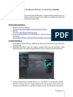 Tutorial Install Ulang OS Blackberry