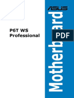 Asus P6 WS Pro Manual