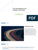 Faster Performance for Dynamic HTML Pages | Instart Logic
