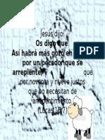 Verso Hay Más Gozo en El Cielo