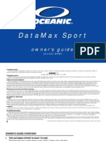 Oceanic Data Sport Manual
