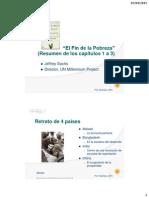 """Resumen de """"El Fin de la Pobreza"""" (caps. 1 al 4)"""