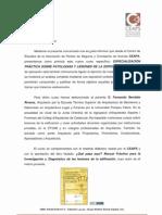 Información curso patologías en la eficicación