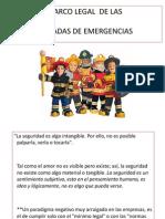 Marco Legal de las Brigadas de Emergencias