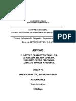 Primer Informe Teleinformatica