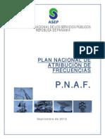 Plan Nacional de Atribución de Frecuencias de Panamá