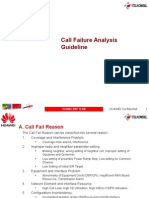 Call Fail Analysis Guideline