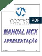 Manual MCX Apresentacao