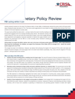Monetary Policy Review March 4 2015