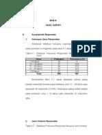Resume Hasil IKM RSUD Ratu Zalecha 2009