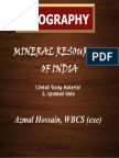 Mineral Resources of India