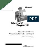 Programación y Control Con Project