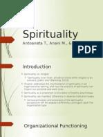 Spirituality Presentation