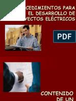 SemNº07-Procedimiento Para El Desarrollo de Proyectos Eléctricos