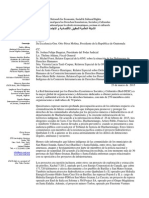 Carta Colectiva Guatemala Marzo 2015