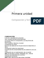 composición y forma