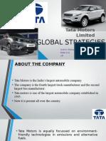Tata Motors global strategies
