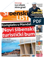 Sibenski list, 08. travnja 2015.