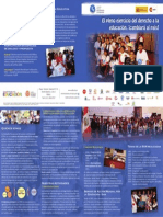 A 3 Brochure CPDE Institucional El Pleno Ejercicio Del Derecho a La Educación